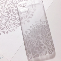 Sharpie Painted Lace Phone Case