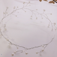 "Simple Pearl ""Flower"" Crown DIY"