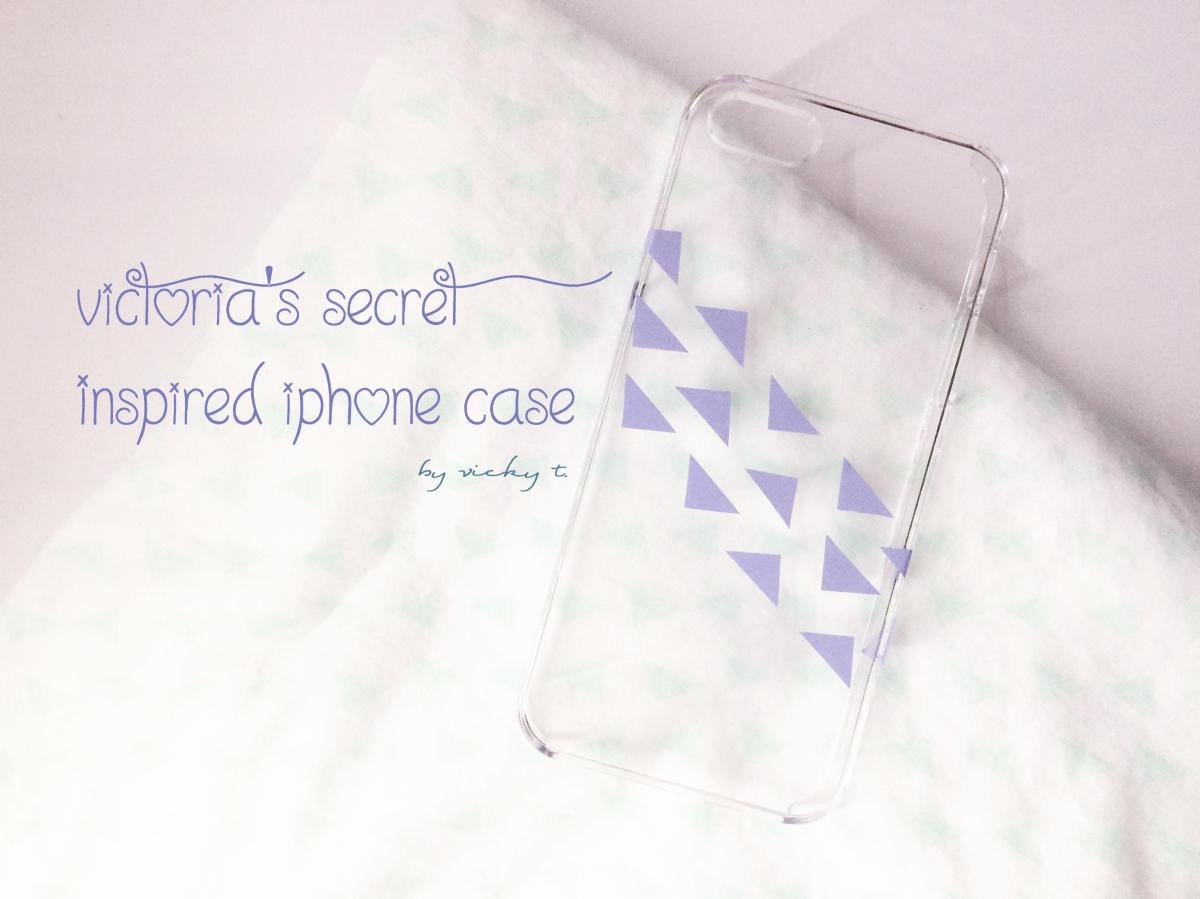 Victoria's Secret Inspired iPhone Case