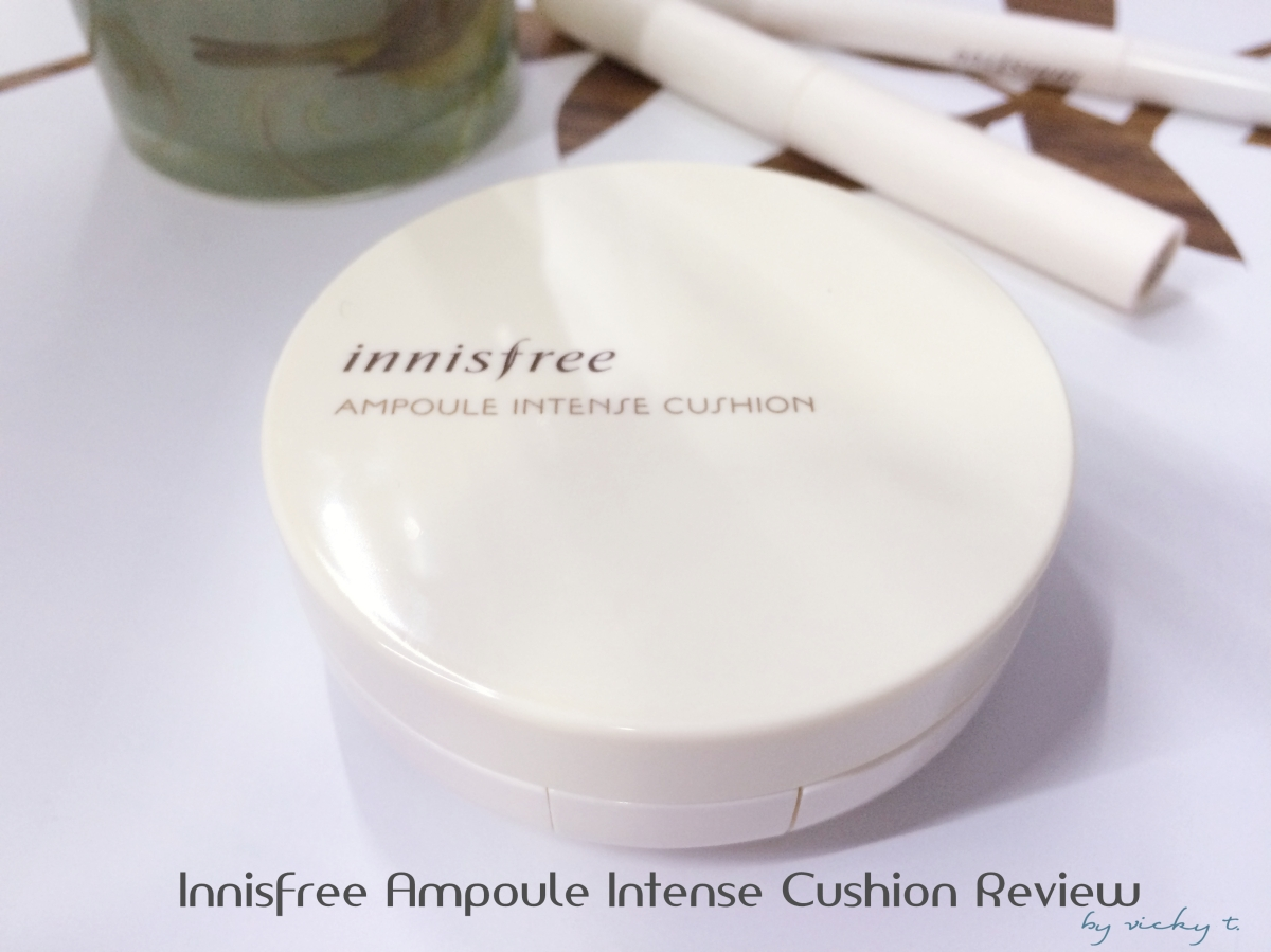 Innisfree Ampoule Intense Cushion Review