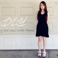 Taking Your Own Outfit Photos - DIY/Hack