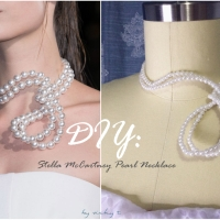 Stella McCartney's Pearl Necklace DIY Attempt