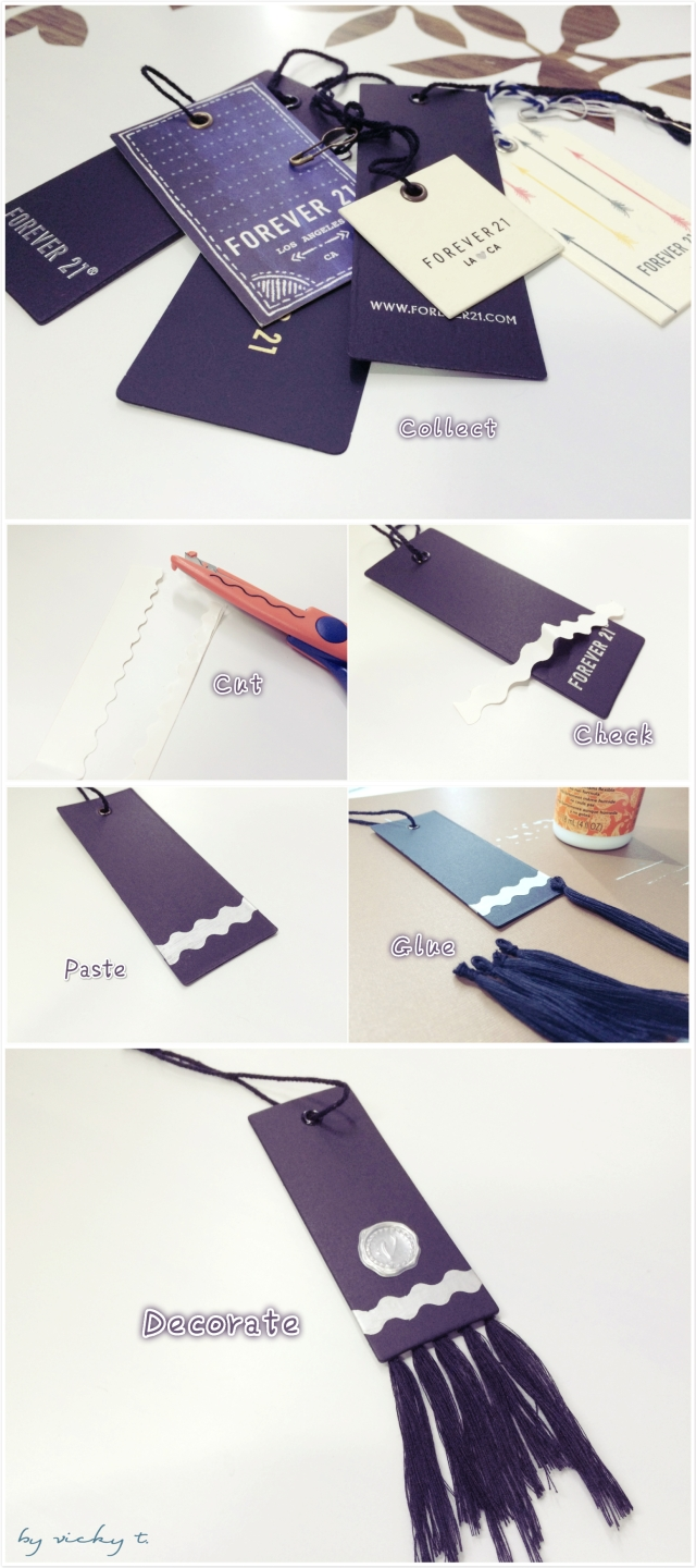 Tassel Bookmark steps