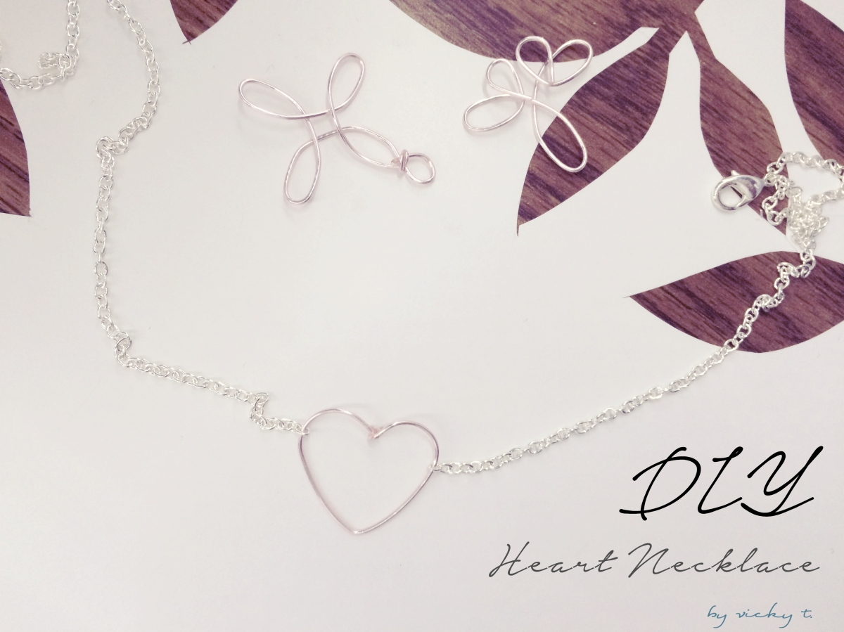 DIY Heart Necklace