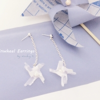 DIY Pinwheel Earrings