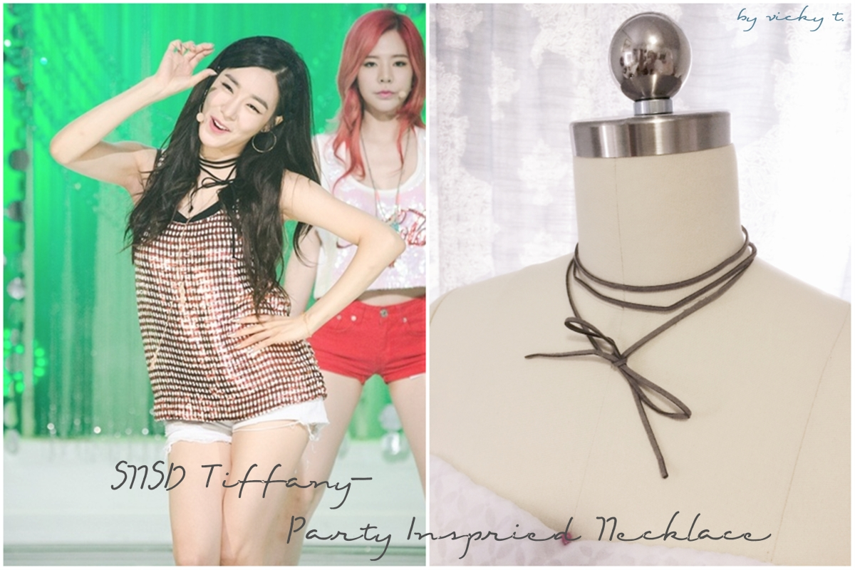 SNSD Tiffany's Party Inspired Necklace DIY