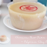 Chinese New Year Cake - Polymer Clay DIY
