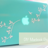 DIY Macbook Pro Decal