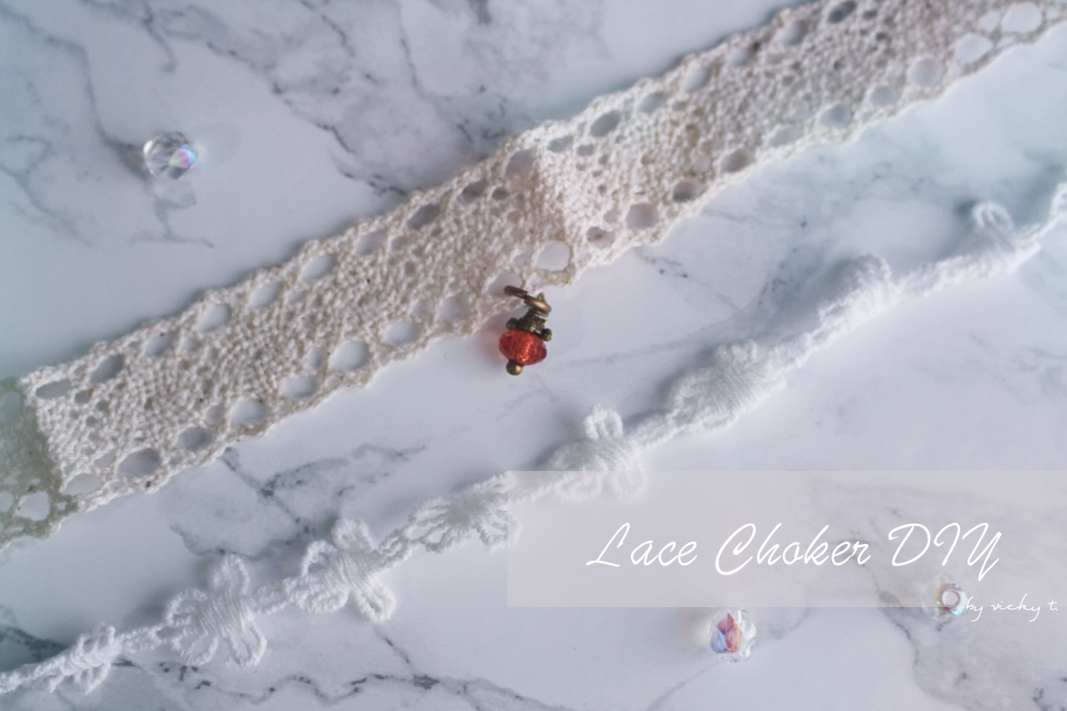 More Lace Choker DIY