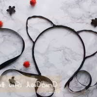 DIY Cat Ears Headband