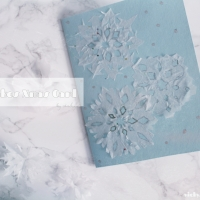 Snowflakes Christmas Card DIY