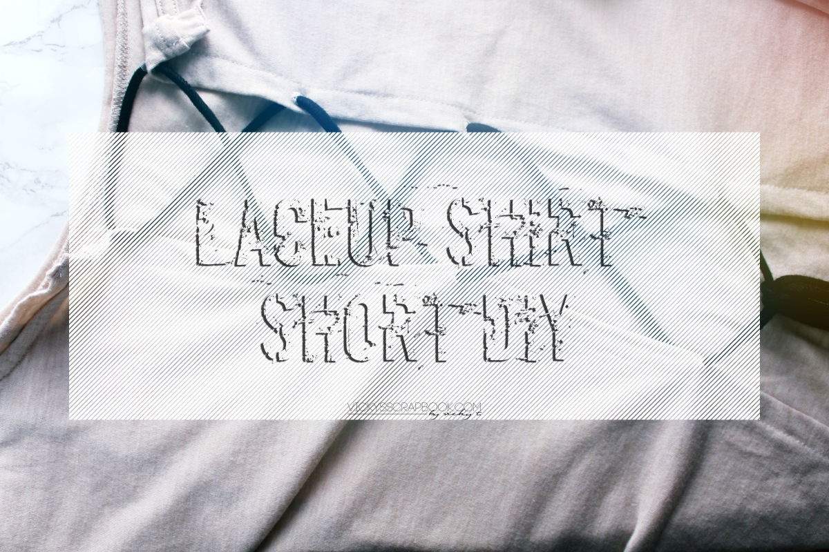 Laceup Shirt - Short DIY