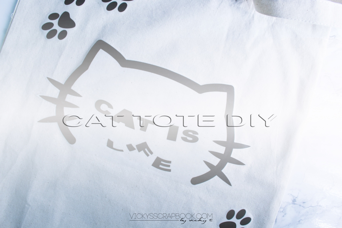 Cat Tote Bag DIY