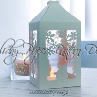 Holiday Paper Lantern DIY