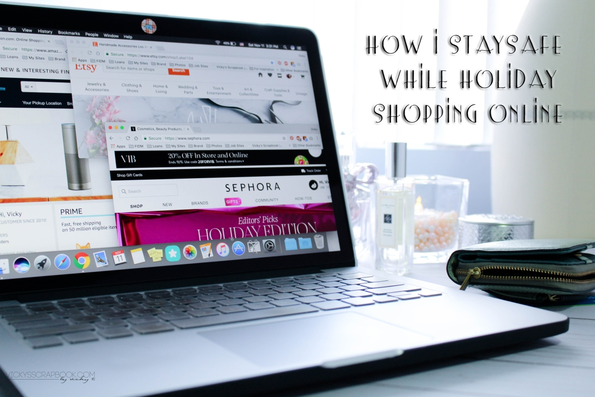 How I Stay Safe While Holiday Shopping Online