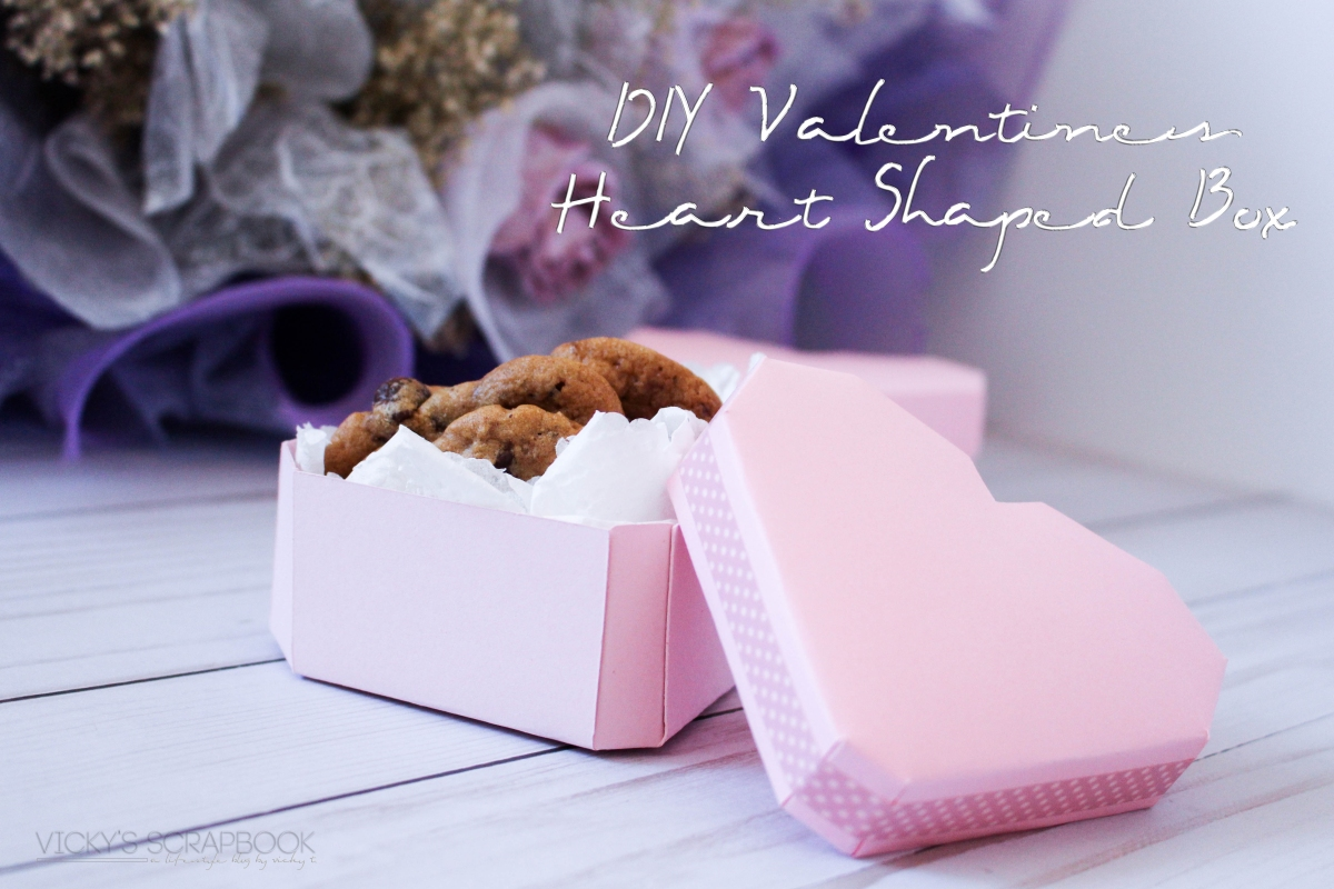 DIY Valentines Heart Shaped Box