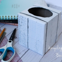 Quick Upcycling Tissue Boxes DIY