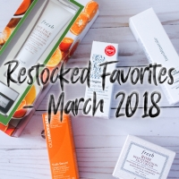 Restocked Favorites - March 2018
