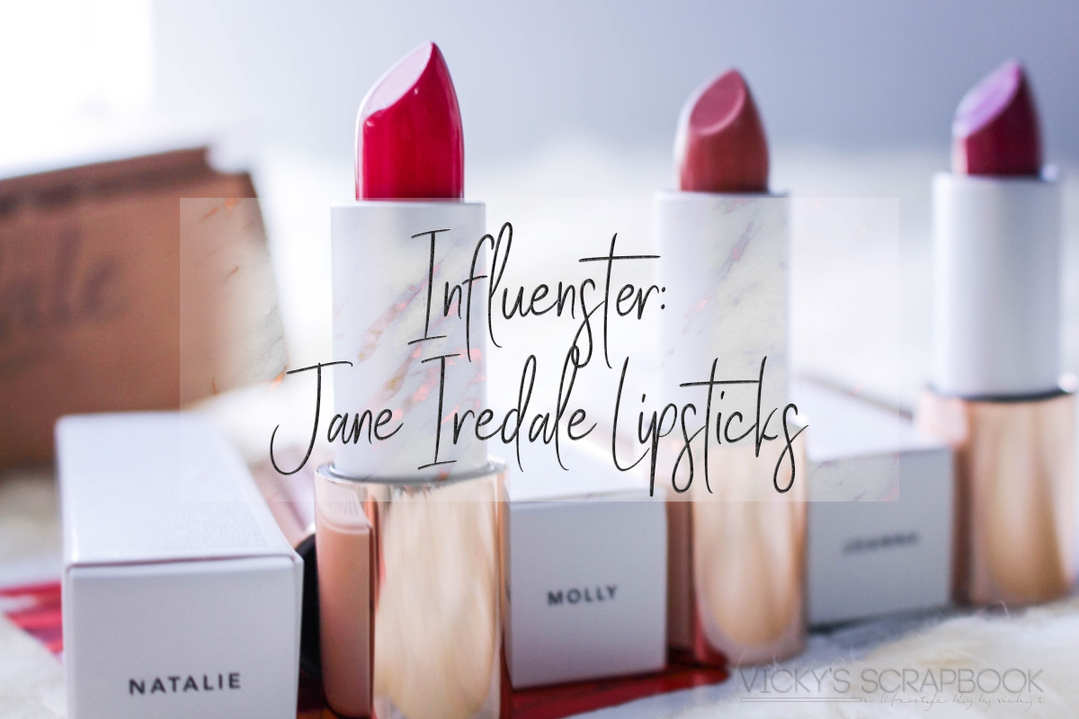 Influenster: Jane Iredale Lipsticks