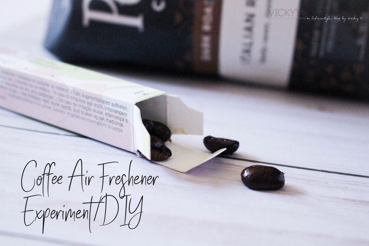 Coffee Air Freshener Experiment/ DIY
