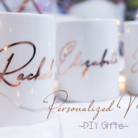 DIY Gifts - Personalized Mugs